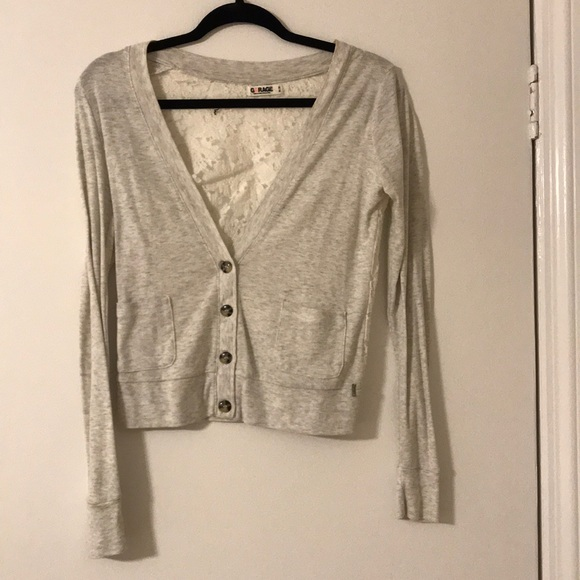 63% off Garage Sweaters - Cute lace sweater from Rachel's closet ...